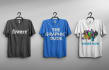 put your logo,text,name or graphic on a realistic t shirt