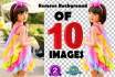 remove Photo Background and Adobe Photoshop Edit 10 Images