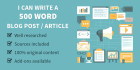 write 10 articles or blog post