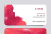 design unique attractive Business Card