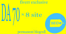give you doffolow Blogroll DA70x8 site permanent
