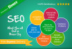do Analysis of your website and Provide You SEO Audit Report