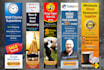 design 2 Professional Static Banners in 24hrs