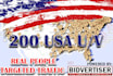 send 1000 real US visitors to your website to click on ads