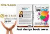 design creative ebook cover and free 3D