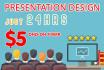 create WOW presentation Design