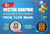 convert to vector or redesign your logo or image