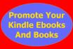 market and promote  kindle ebooks and books