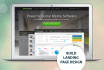 do attractive design a Landing Page