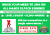 get your url indexed across all major search engines using backlinks