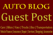 do Guest Post on High Quality Auto Blog