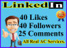 give you LinkedIn profile services