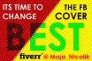 design the best facebook timeline cover