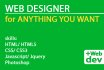 professionally design anything for your website