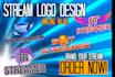 create an amazing stream logo