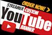 make a custom streamer youtube banner