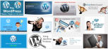 create a wordpress website from scratch with all the design