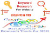 do in depth keyword research for your site