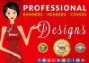 design a professional banners ad