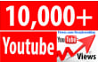 give 10000 plus High retention and splitable youtube views