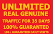 send UNLIMITED real traffic to your website for 35 days