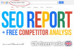 do SEO Report and Competitor Website Analysis