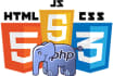 solve html, css, js, PHP and mysql problems