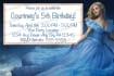 create a customized Cinderella,new movie, invite