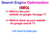 rank up your website on google search