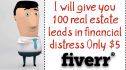 give you 100 real estate leads in financial distress