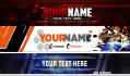 do HIGH quality     YouTube banner designs