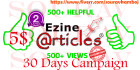 promote your EZINE article