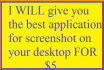give you the best application for screenshot on your desktop