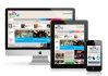 make your custom responsive website