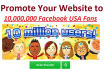 promote your website to 10 Million USA Facebook group members