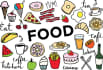 do guest post in DA30 food blog