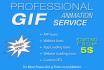 create Amazing GIF Animation For You