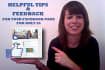 help you improve your Facebook page