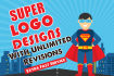 design 2 LOGO designs within 12 Hours