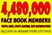 promote Your Business Via 4,480,000 Active Social Members