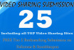 do 25 Video Sharing and Bookmarking on Delicious and Stumbleupon