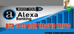 drive 10000 ALEXA targeted website traffic