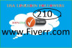 give you 300 Active USA LinkedIn followers any Business page