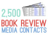 provide you with 2,500 book review media contacts