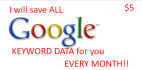 save All Google Keyword Data EVERY Month
