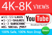 get you at least 4,000 youtube views to your video