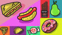draw a vibrant custom icons of food or whatever