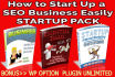 teach you how to StartUp SEO Business Easily