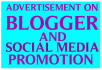 post your link,product on 2 blogger site and promotion on social media