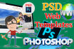 design creative PDS web template